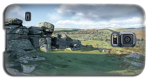 A View From Combestone Tor Galaxy S5 Case