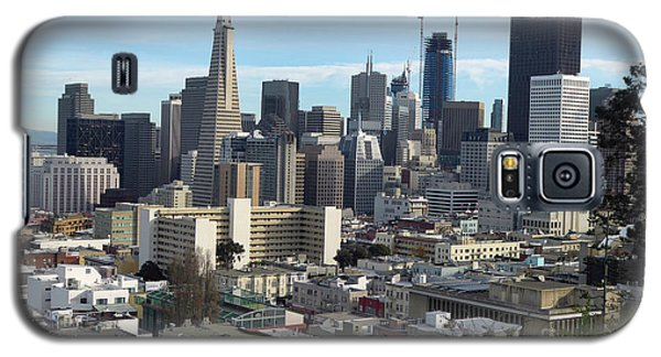 A View Of Downtown From Nob Hill Galaxy S5 Case by Steven Spak
