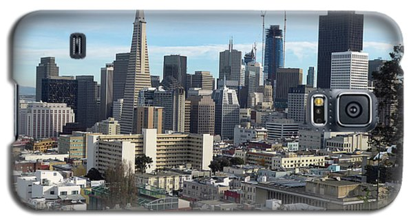 A View Of Downtown From Nob Hill Galaxy S5 Case