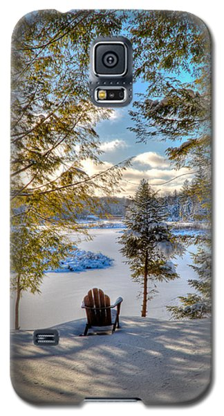 A View Of The Moose Galaxy S5 Case