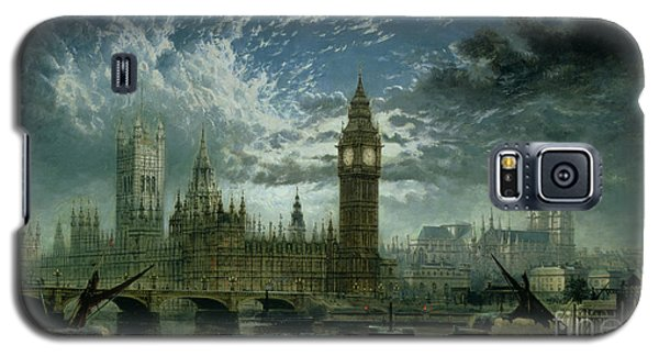 A View Of Westminster Abbey And The Houses Of Parliament Galaxy S5 Case by John MacVicar Anderson