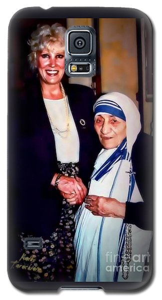 A Vist With Mother Teresa Galaxy S5 Case