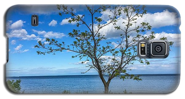 A Walk Along Lake Michigan Galaxy S5 Case
