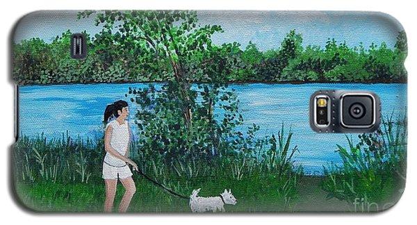A Walk Along The River Galaxy S5 Case