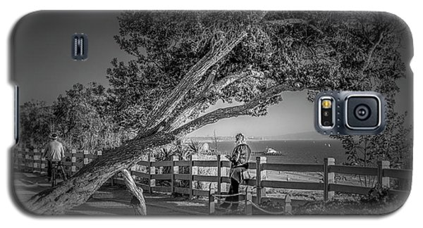 A Walk In The Park B And W Galaxy S5 Case