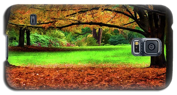 Galaxy S5 Case featuring the photograph A Walk In The Park by Jordan Blackstone