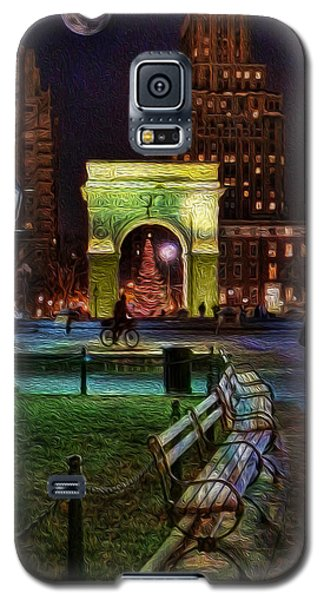 A Walk In Washington Square Galaxy S5 Case