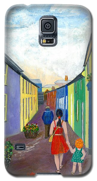 A Walk On The Bright Side Galaxy S5 Case by Veronica Rickard
