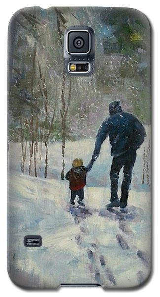 A Walk Thru The Winter Woods Galaxy S5 Case