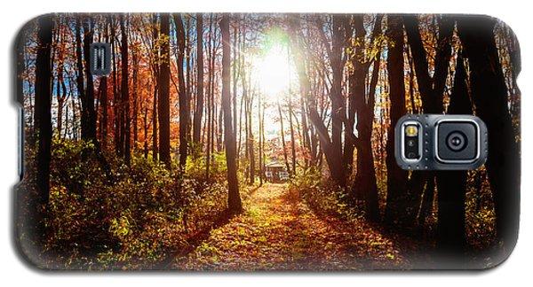 A Walk To Grandma's Galaxy S5 Case by April Reppucci