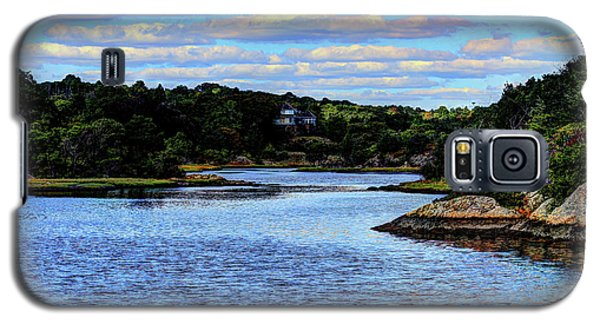 Galaxy S5 Case featuring the photograph A Water View Newport Ri by Tom Prendergast