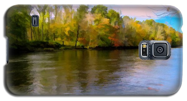 A Wide Scenic View Of Shetucket River. Galaxy S5 Case