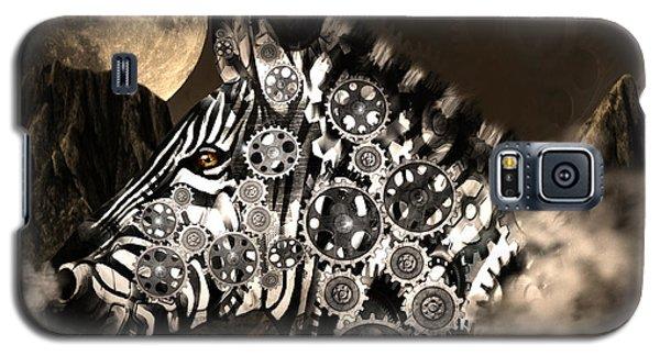 A Wild Steampunk Zebra Galaxy S5 Case