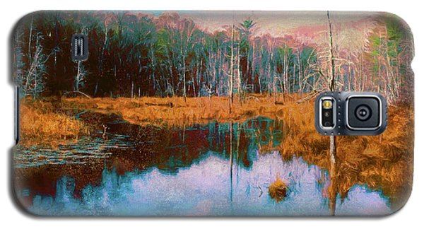 A Wilderness Marsh Galaxy S5 Case