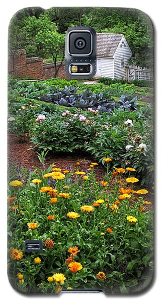 A Williamsburg Garden Galaxy S5 Case
