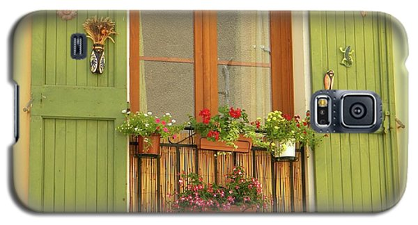 A Window To...provence Galaxy S5 Case by Manuela Constantin