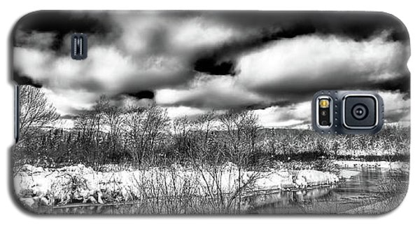 Galaxy S5 Case featuring the photograph A Winter Panorama by David Patterson