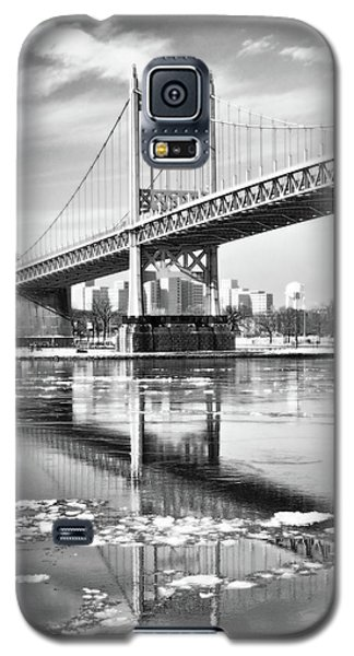 A Winter Portrait Of The Triboro Bridge Galaxy S5 Case