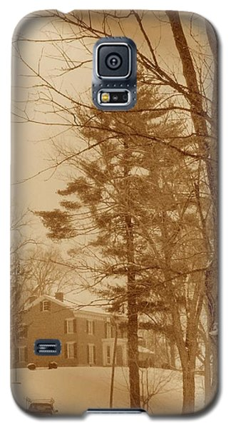 Galaxy S5 Case featuring the photograph A Winter Scene by Skyler Tipton