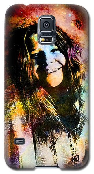A Woman Of 1970 Rock And Roll Galaxy S5 Case