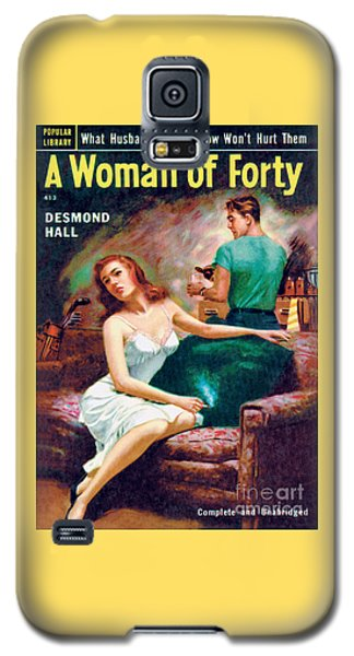 A Woman Of Forty Galaxy S5 Case