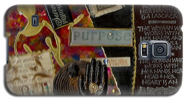 A Woman With Purpose Galaxy S5 Case