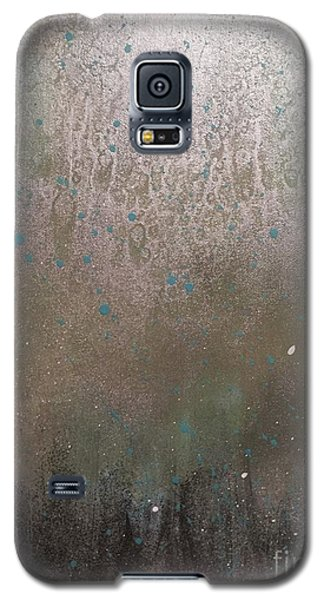Galaxy S5 Case featuring the painting A Wooded Birthplace by Theresa Kennedy DuPay