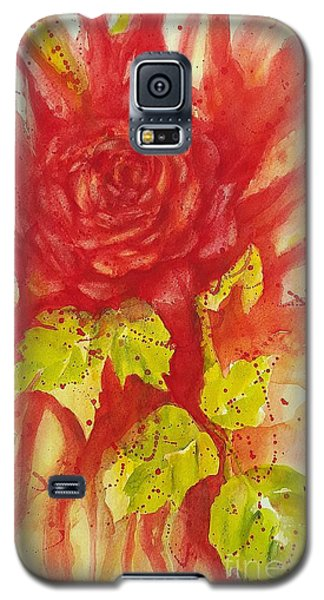 A Wounded Rose Galaxy S5 Case
