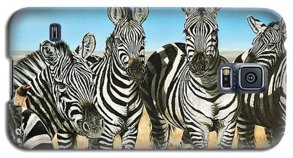 A Zeal Of Zebras Galaxy S5 Case