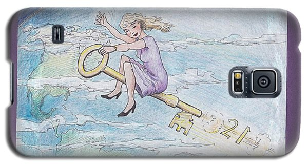 Flying Free Galaxy S5 Case by Charles Cater