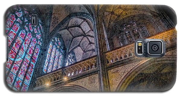 Galaxy S5 Case featuring the photograph Aachen, Germany - Cathedral - Nikolaus-michaels Chapel by Mark Forte
