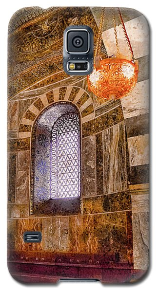 Galaxy S5 Case featuring the photograph Aachen, Germany - Cathedral - Upper Gallery by Mark Forte