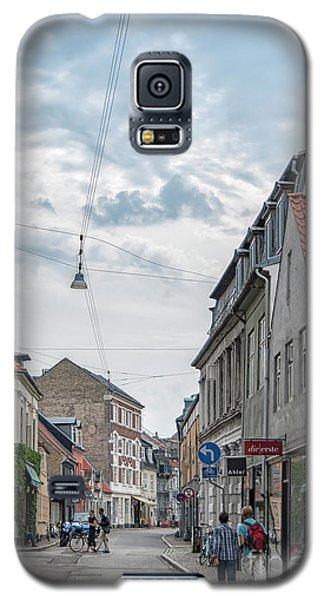 Galaxy S5 Case featuring the photograph Aarhus Urban Scene by Antony McAulay