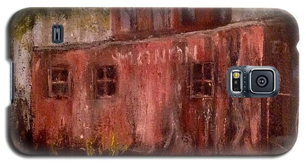 Abandon Caboose Galaxy S5 Case