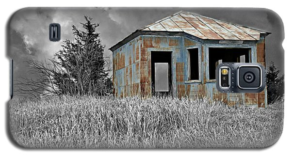 Abandon Railroad Shack Galaxy S5 Case