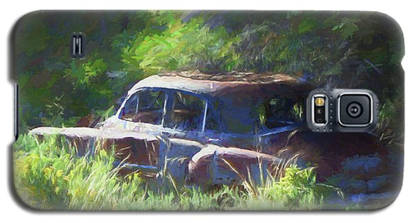 Abandoned 1950 Chevy Dop Galaxy S5 Case