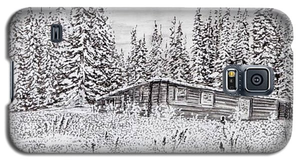 Abandoned Cabin Galaxy S5 Case