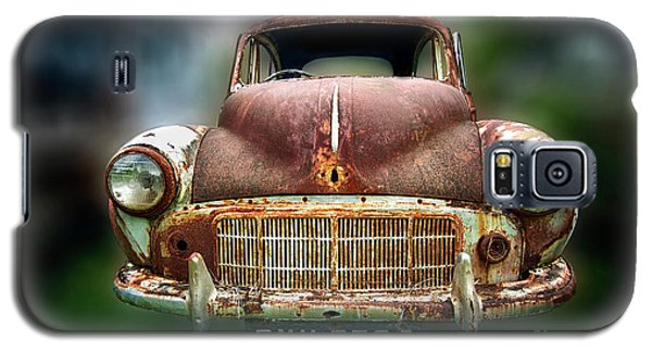 Galaxy S5 Case featuring the photograph Abandoned Car by Charuhas Images