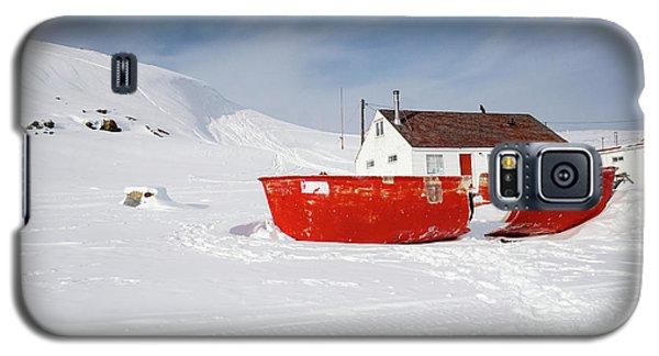 Abandoned Fishing Boat Galaxy S5 Case