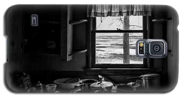 Galaxy S5 Case featuring the photograph Abandoned Kitchen by Dan Traun
