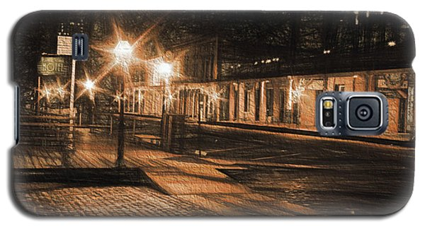 Galaxy S5 Case featuring the photograph Abandoned Street by Michael Cleere