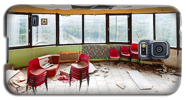 Abandoned Tower Restaurant - Urban Panorama Galaxy S5 Case by Dirk Ercken
