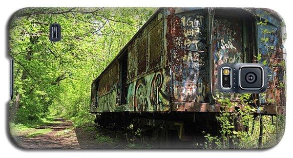 Abandoned Train Car Galaxy S5 Case