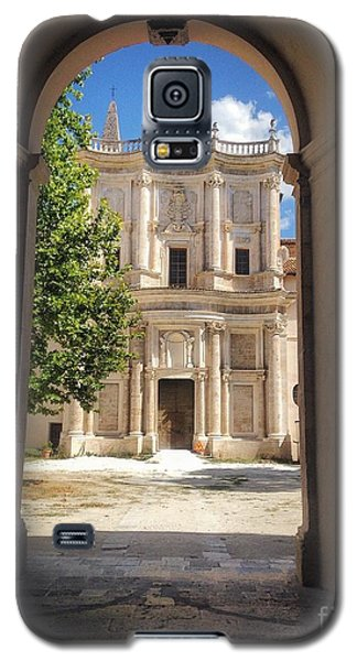 Abbey Of The Holy Spirit At Morrone In Sulmona, Italy Galaxy S5 Case