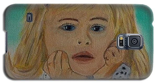 Galaxy S5 Case featuring the painting Abbey by Rod Jellison