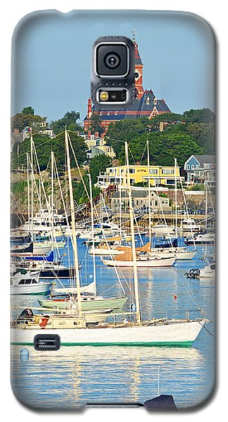 Abbot Hall Over Marblehead Harbor From Chandler Hovey Park Galaxy S5 Case