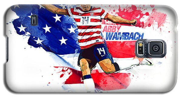 Abby Wambach Galaxy S5 Case by Semih Yurdabak