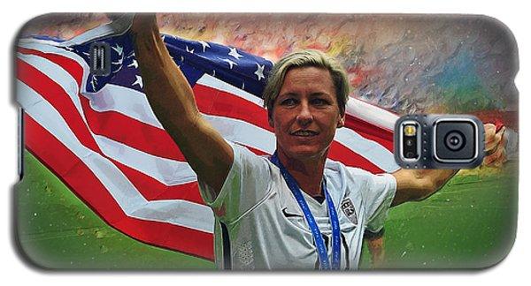 Abby Wambach Us Soccer Galaxy S5 Case by Semih Yurdabak