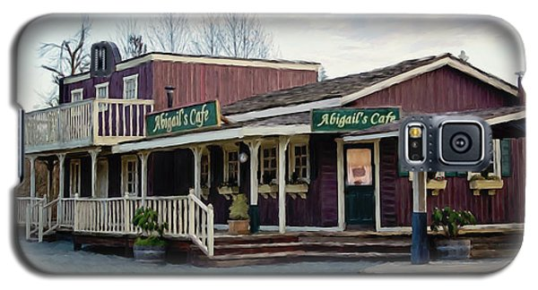 Abigail's Cafe - Hope Valley Art Galaxy S5 Case