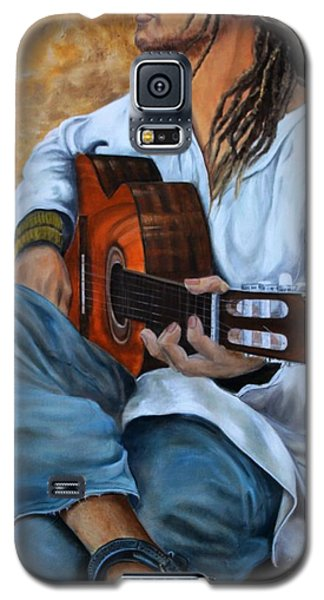 About The Music 2 Galaxy S5 Case by Anna-maria Dickinson